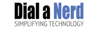 Dial a nerd logo